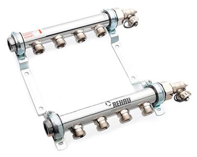 Коллектор Rehau HLV 4 контура для систем радиаторного отопления - фото 11139
