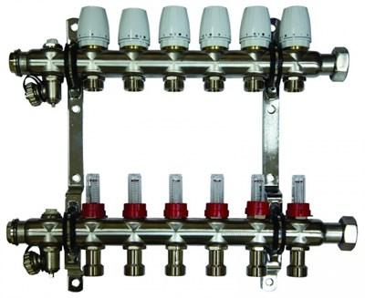 """Millennium 1"""" коллектор c клапанами выходы 9х3/4  - фото 11226"""
