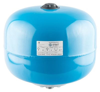 Гидроаккумулятор Stout 24 вертикальный - фото 11337