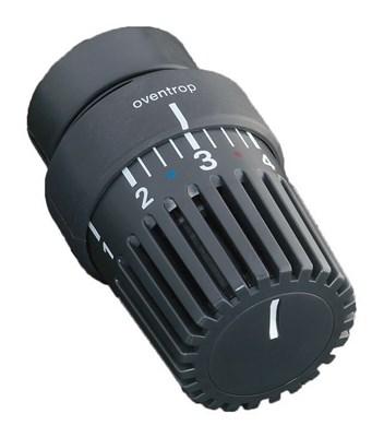 Термостат Oventrop Uni LH 1011467 антрацит с декоративным кольцом - фото 11424