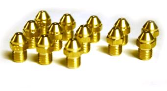 Форсунки для котла Baxi NUVOLA-3 Comfort, NUVOLA-3 B40 для сжиженного газа (комплект инжекторов) - фото 9410