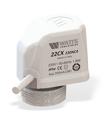 Сервопривод Watts 22CX24NA2 (24В) нормально открытый арт. 10029672 - фото 9503