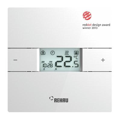 Терморегулятор Rehau Е на 230 В (подкл. 12 сервоприводов) (арт. 12390231002) - фото 9534