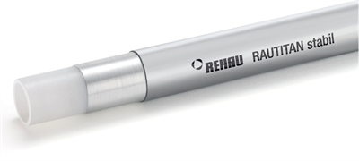 Труба Rehau Rautitan Stabil 16.2 х 2.6 мм. (арт. 11301211100) 1 м. - фото 9771