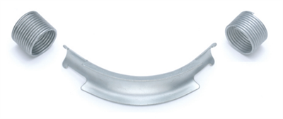 Фиксатор поворота Rehau Rautitan 25 мм. 90° отвод направляющий с кольцами (арт. 11383511002) - фото 9917