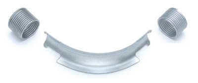 Фиксатор поворота Rehau Rautitan 32 мм. 90° отвод направляющий с кольцами (арт. 11386411002) - фото 9918
